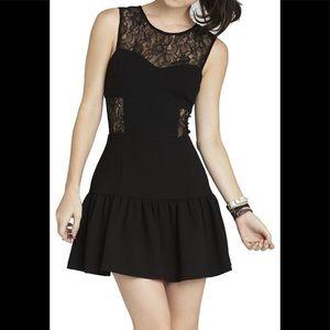 BCBGENERATION BLACK COCKTAIL DRESS!